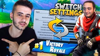 ΑΠΕΙΡΟ ΓΕΛΙΟ ΣΤΟ SWITCH SETTINGS CHALLENGE! (Fortnite Battle Royale)
