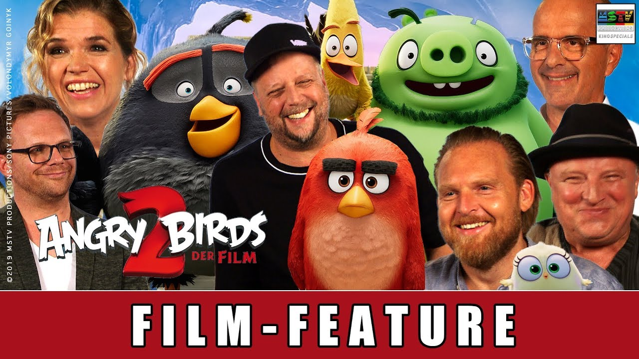 Angry Birds 2 - Der Film - Film-Feature I Anke Engelke I Smudo I Axel Stein I Axel Prahl