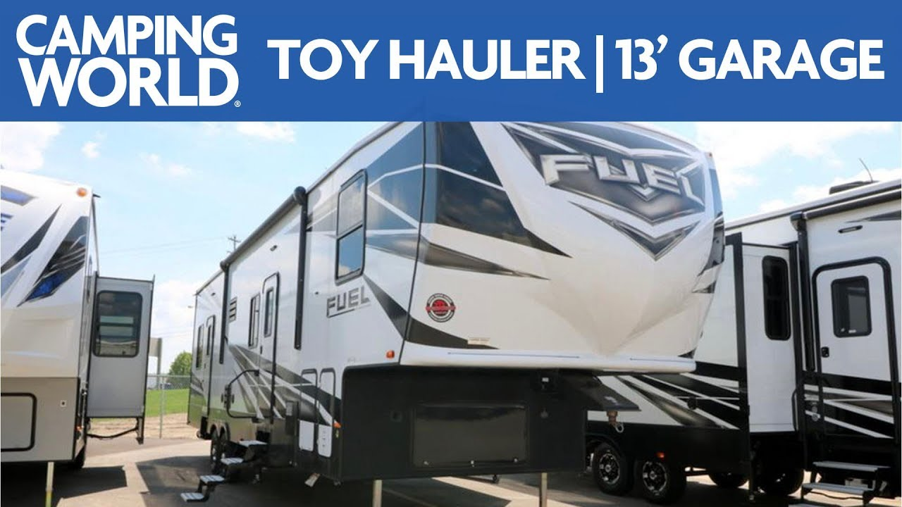 2018 Heartland Fuel 335 Toy Hauler Rv Review Camping