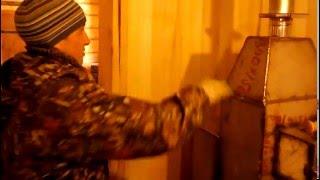 видео Можно ли обложить железную печь кирпичом своими руками