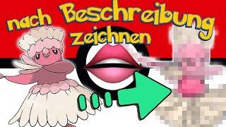 Unbekannte Pokémon NUR nach BESCHREIBUNG zeichnen 👄👂