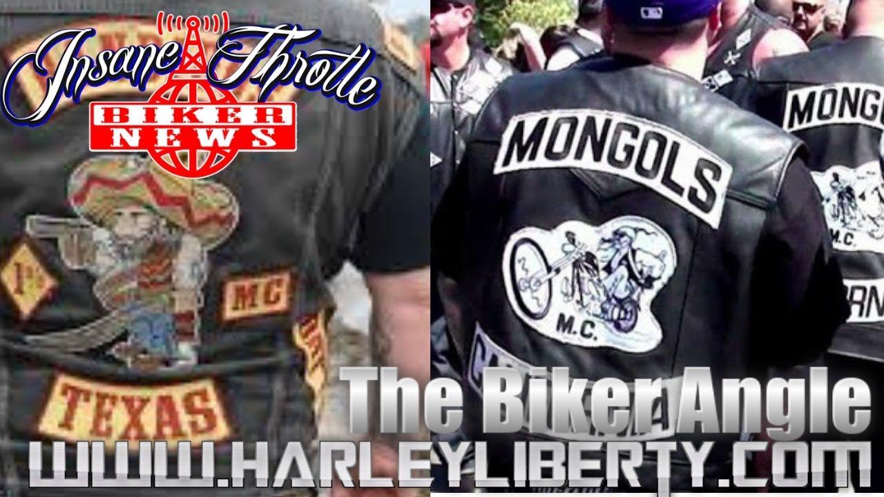Biker News Mongols MC Bandidos Motorcycle Club Iowa Rally