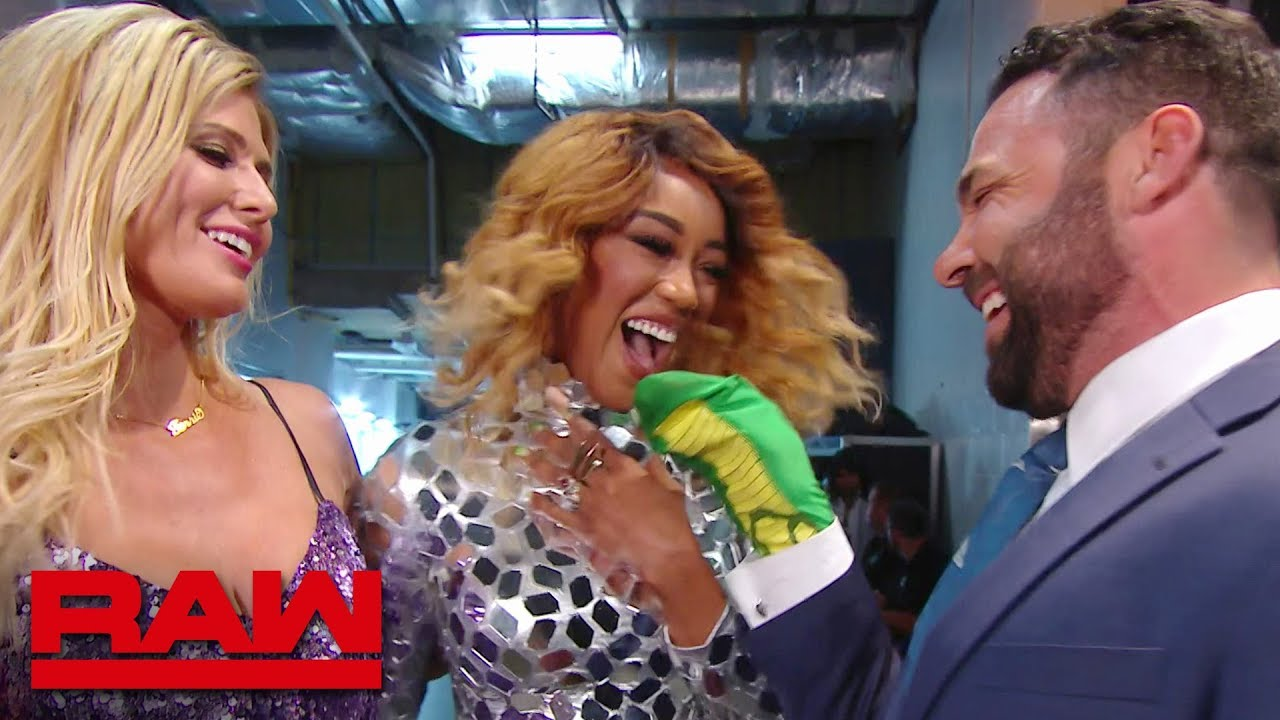 Santino Marella unleashes the cobra for Alicia Fox & Torrie Wilson: Raw Reunion, July 22, 2019