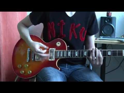 Scorpions  Rock you like a hurricane guitar  + solo