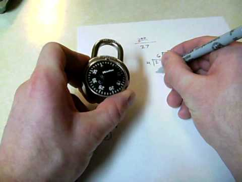 How To Crack A Yale Combination Lock Rakoa