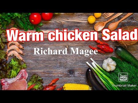 Warm Chicken Salad English style