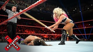 Alexa Bliss thrashes Bayley with a Kendo stick: WWE Extreme Rules 2017 (WWE Network Exclusive)