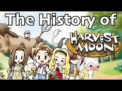 THE HISTORY OF HARVEST MOON!