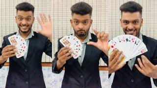 Jadu Mantar Magic Shop Small Card to Big Card #Magician_Bhavik_Shah