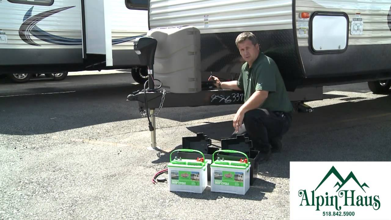 Alpin Haus RV Tech Tip Dual Battery Set Up YouTube