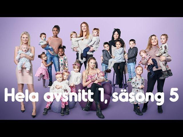 Hela första avsnittet av femte säsongen | Unga mammor