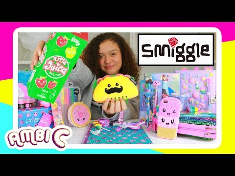 NEW Smiggle Back to School Supplies Haul New School Stuff Smiggle Haul Stationery Giveaway Ambi C