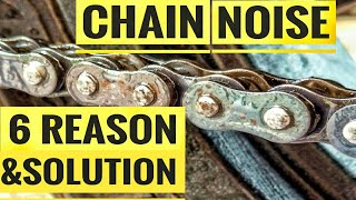 CHAIN NOISE 6 REASONS & SOLUTION | TVS APACHE RTR 200 | BAJAJ DOMINAR 400