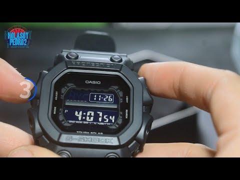 Como Configurar La Hora Casio G Shock GX56BB Black