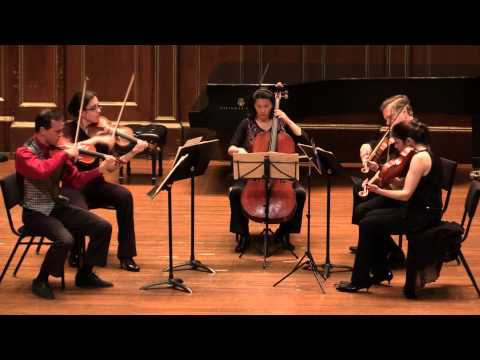 Mozart String Quintet K 593. James Buswell with Carpe Diem String Quartet