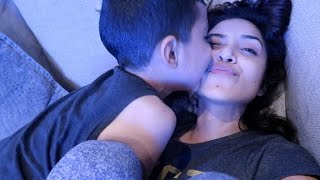 One of DulceCandyTV's most viewed videos: HOW TO GET YOUR KIDS TO KISS YOU + Dancing La Quebradita LOL  | DEC 10 2016