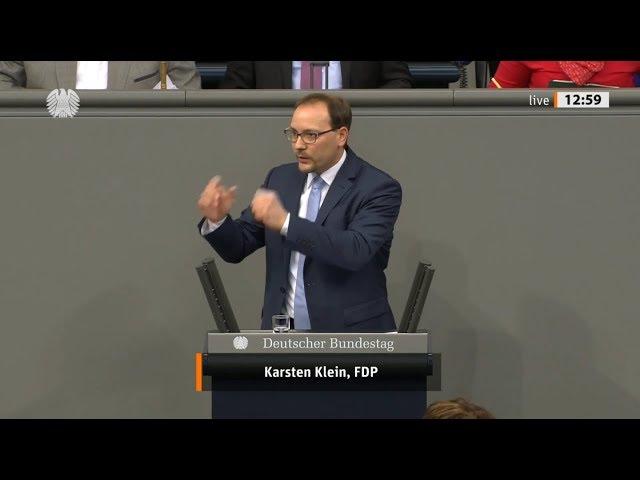 Karsten Klein, MdB: Bundestagsrede zum Haushalt des Gesundheitsministeriums (28.11.2019)