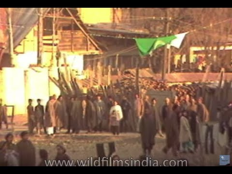 The exodus of Hindus from the Srinagar valley