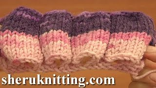 Knitting Tube Stitch Pattern Knitting Tutorial 17 Stitch Pattern Library
