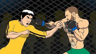 Conor McGregor VS Bruce Lee / Before the fight with Floyd Mayweather