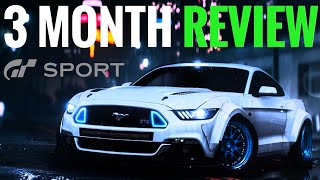 Gran Turismo Sport THE 3 MONTH REVIEW