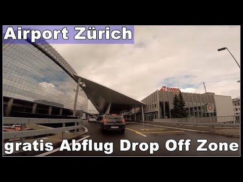 Anfahrt Zur Kostenlose Drop Off Zone Am Flughafen Zurich Lszh Zrh