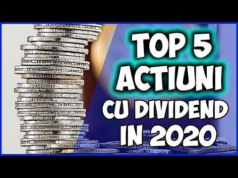 Top 5 Actiuni cu Siguranta Ridicata si Dividend in care Poti sa Investesti la Bursa in 2020