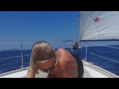 The Ionian Sea Crossing - Leaving Greece to Italy - EP 58 Sailing Seatramp