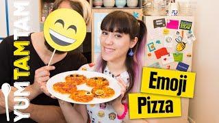 Emoji-Pizza // Sag es mit Mini-Pizzen // #yumtamtam