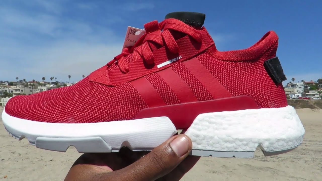 ADIDAS POD S3.1 (RED COLORWAY) DEATILED