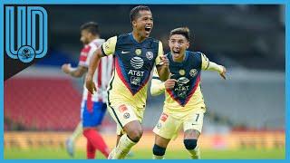 Las Águilas vencieron al Guadalajara en un duelo poco espectacular; Giovani el héroe azulcrema