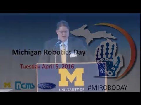 2016 Michigan Robotics Day Automous Vehicle Opportunities  P