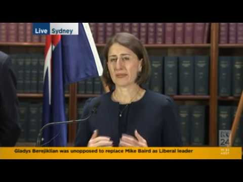 First day as premier and Gladys Berejiklian gets asked about