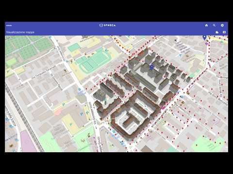 SENECA project - web-based visualization of 3D buildings and energy information