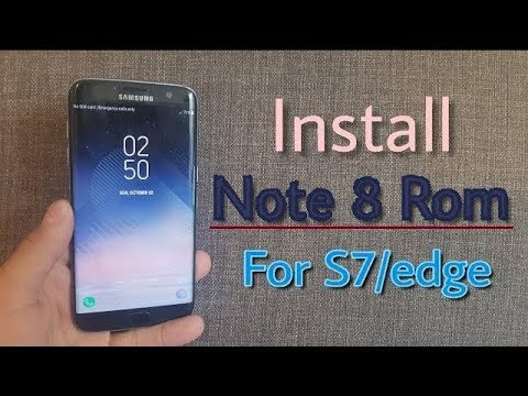 Galaxy Note 8 Port Rom on Galaxy S7/edge (Installation + Review)