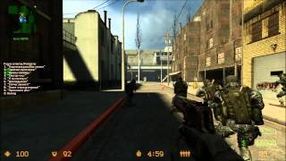 [HD-720p] Counter Strike Source MW3 Edition PC Gameplay KST1