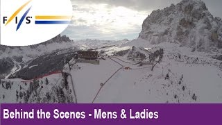 Val Gardena World Cup Downhill - Extreme Edition - Behind the Scenes