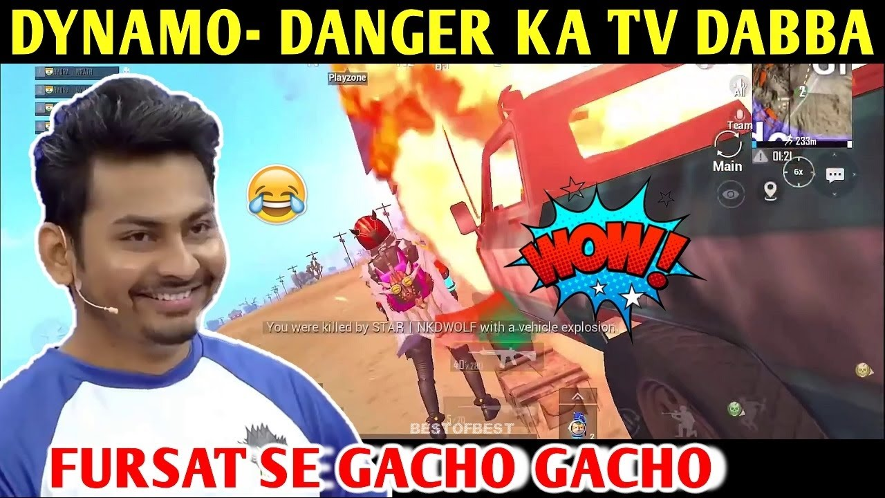 DYNAMO - DANGER KA TV DABBA | PUBG MOBILE | BEST OF BEST