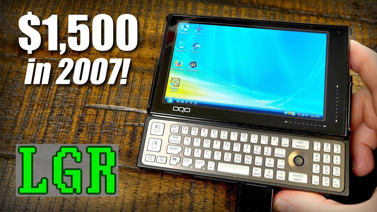 The World's Smallest Windows PC in 2007! OQO Model 02