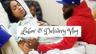 LABOR & DELIVERY VLOG | IT'S A BOY! | THE HEATHERS.