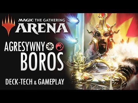 Bezlitosny Boros Aggro Deck & Gameplay- Magic: the Gathering Arena Polska