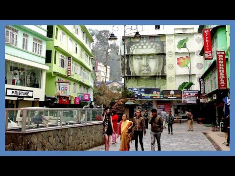 MOST BEAUTIFUL CITY IN INDIA - GANGTOK SIKKIM TOUR - Cleanest city