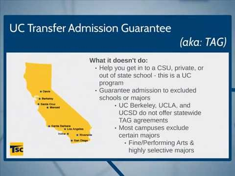 Two Minutes to Transfer: Guaranteed & Priority admission programs