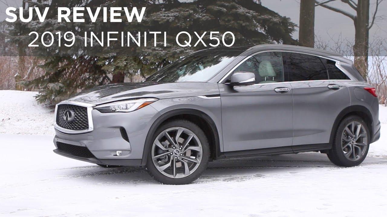 Suv Review 2019 Infiniti Qx50 Driving Ca