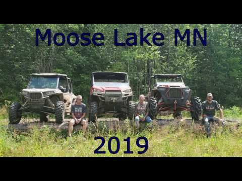 RZR's and Ranger mudding and riding trails by moose lake MN