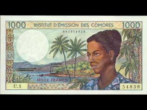 Paper money Comoros Islands - banknotes - banknotes