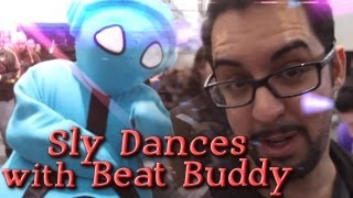 Sly Dances with Beat Buddy (PAX East 2013)
