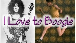 T Rex I Love to Boogie Marc Bolan 70