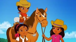 Dora and friends cartoon - Legend of the Lost horses