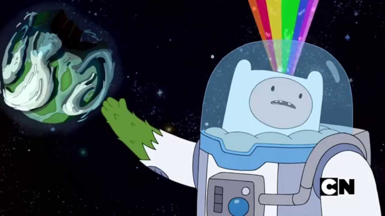 Finn Talks With The Catalyst Comet Adventure Time The